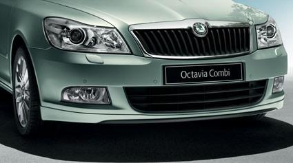 Frontschürze - Octavia II ab KW45 - Das neue Gesicht (Styling-Kit)