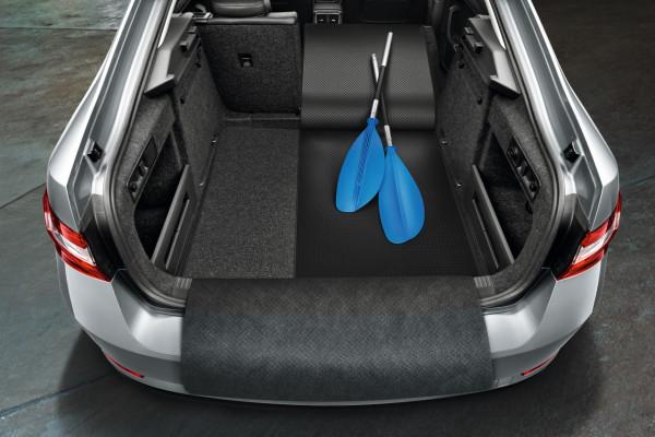 Kofferraumwendematte Gummi/Textil ausfaltbar