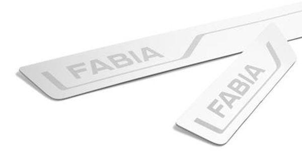 """Dekorative Einstiegsleisten Edelstahl """"Fabia"""""""