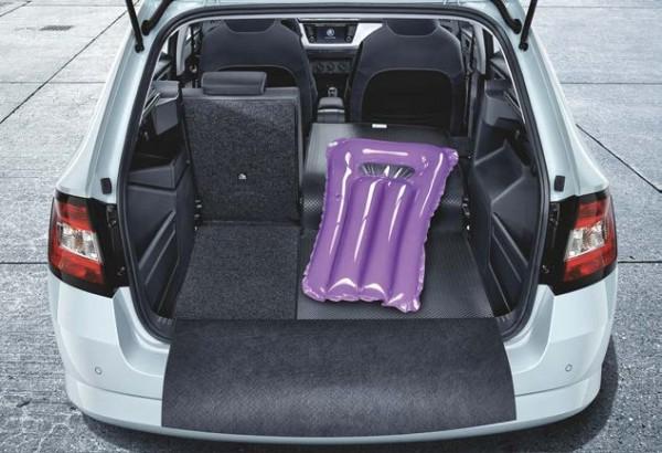 Kofferraumwendematte Gummi/Textil für Fabia III Combi