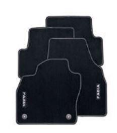 Textilfußmatten-Set Premium FABIA IV