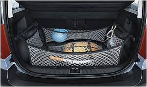 Gepäckraumnetzsystem Yeti (nur für Fahrzeuge mit Kofferraum-Zwischenboden)