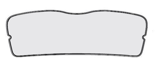 Sonnenschutz für Heckscheibe FABIA III Limousine