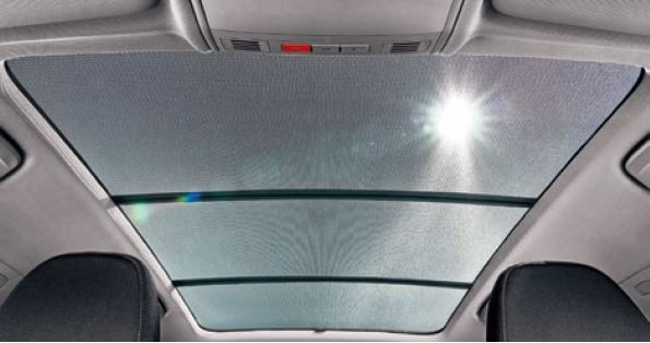 Sonnenschutz-Set für Panoramadach FABIA IV