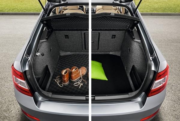 Kofferraumwendematte Kunststoff/Velour