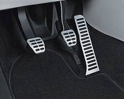 Edelstahl Pedal-Blenden