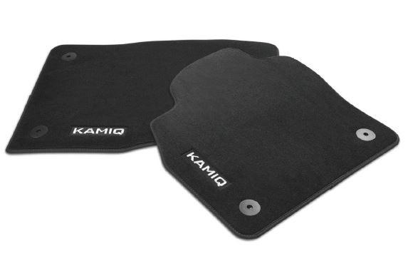 Textilfußmatten-Set Premium KAMIQ