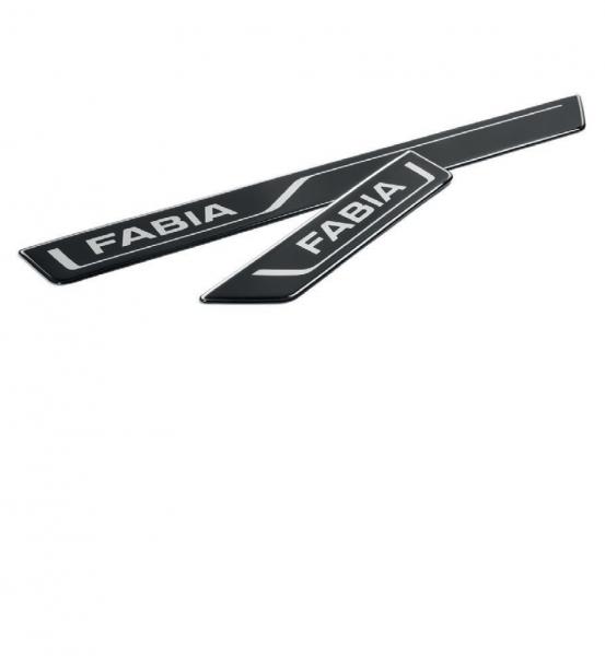 Einstiegsfolien-Set schwarz für Fabia III