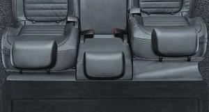 Kofferraumabdeckung hinter den Rücksitzen